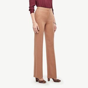 Ann Taylor Flare Pant in Camel 2